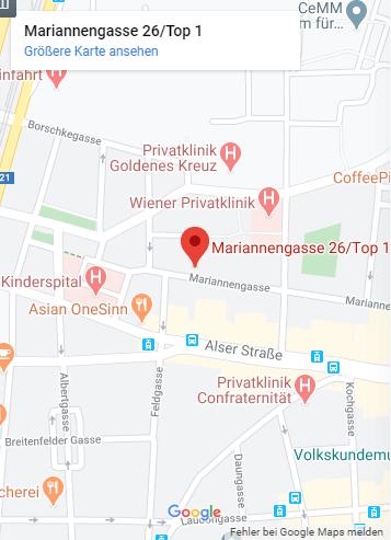 Dr. Andrea Weisert in Wien-Standort Kanzlei-Tablet